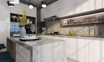 Kitchen Cabinet and Island Decor Ideas by 3D Design