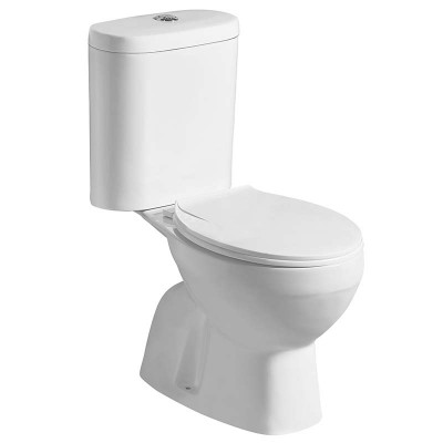 Two-piece S-trap Power Dual Flush Toilet for Bathroom or Restroom