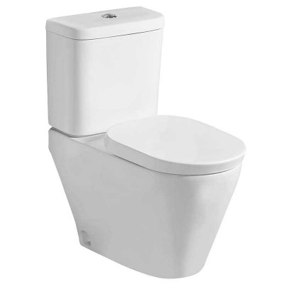 Two-piece Comfortable Height Dual Flush Bathroom Toilet by Technical Toilet Factories in China