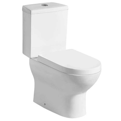 Bathroom Dual Flush Close Coupled Toilet for Sale (P-trap or S-trap)