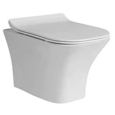 Space-saving Wash-down Wall-hung Toilet (Rear Discharge Wall Mounted Toilet)