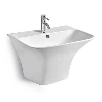Wall Hung Bathroom Sink, Ceramics Wall Mount Basins