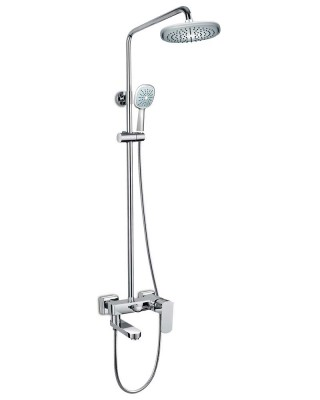 Shower Head and Valve Brass Chrome-plated