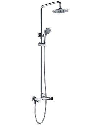Shower Mixer with Diverter and Hand Held Shower Head