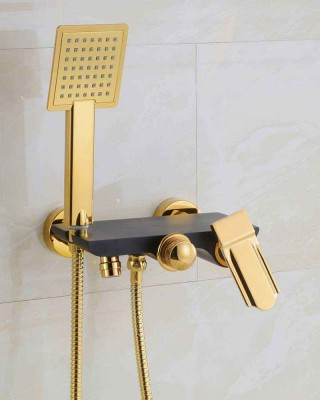 Exposed Shower Valve, Hand Shower Head with Hose