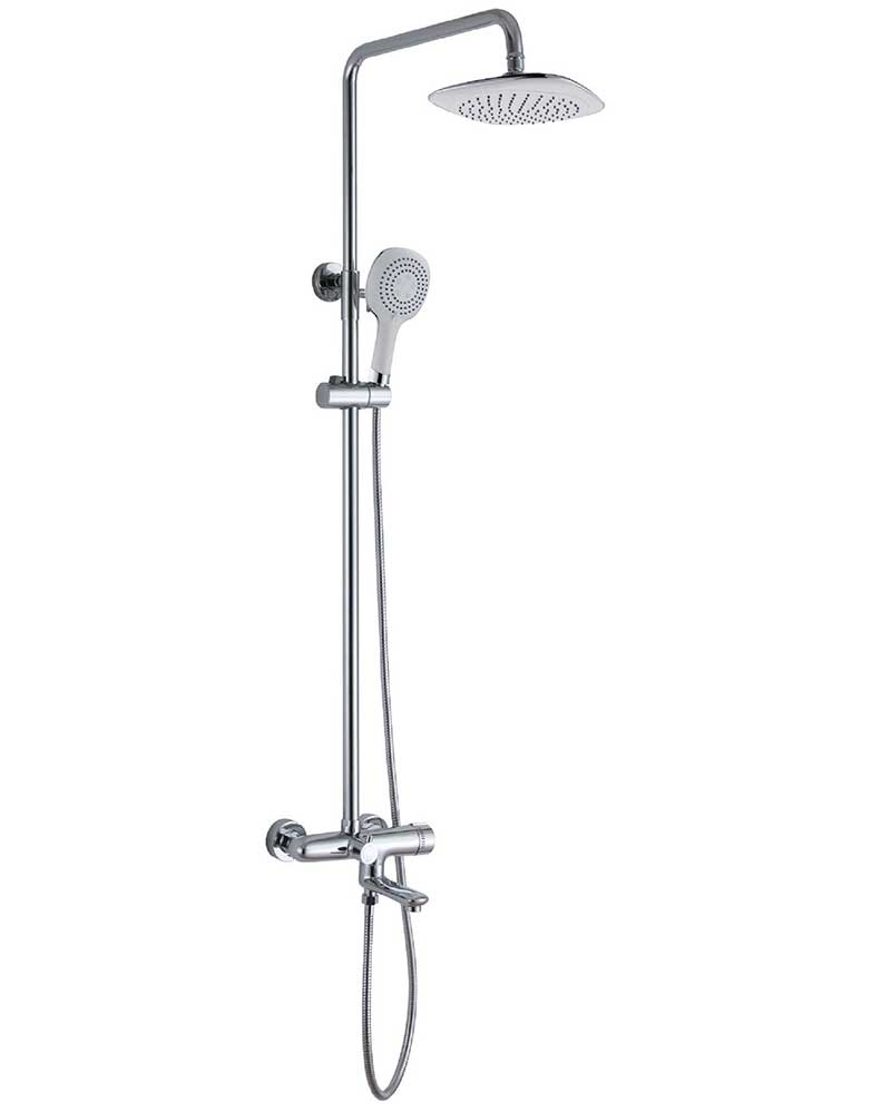 Bath and Shower with Mixer Valve | Shower Shops