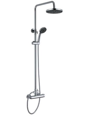 Rain Shower with Dual Heads | Shower Supply Store