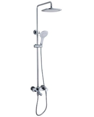 Shower Set with Mixer Tap and Dual Heads | Shower Factory