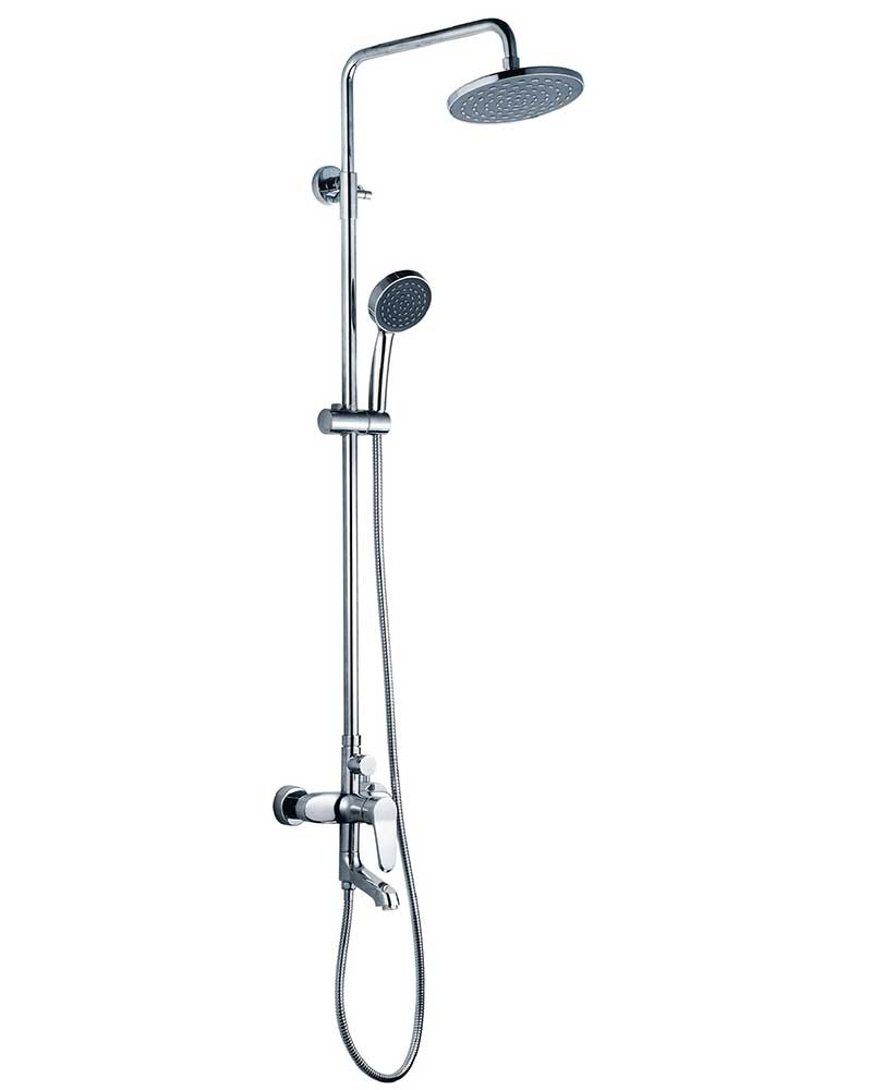 Waterfall Shower Set with 3 Water Outlets | Shower Store