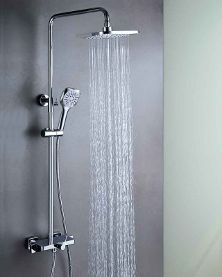 Thermostatic Shower with Dual Heads | Shower Manufacturer