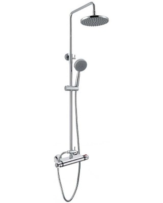 Thermostatic Shower Valve with Dual Shower Heads