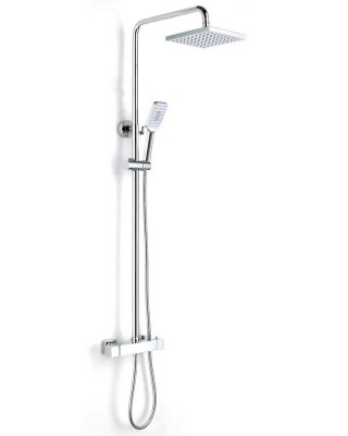 Thermostatic Shower Valve and Shower Head with Hose