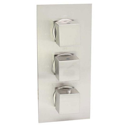 Thermostatic Shower System | Thermostatic Shower Valve with 3 Control Knobs