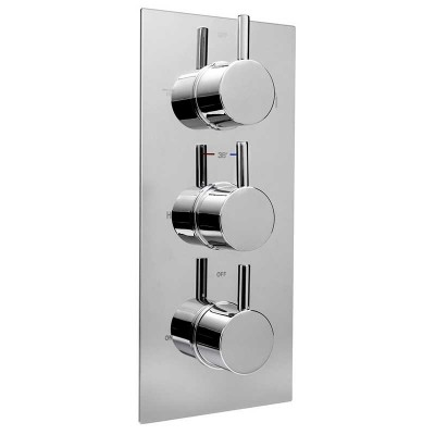 Thermostatic Shower Mixing Valve NPT 1/2″ Wall Concealed System
