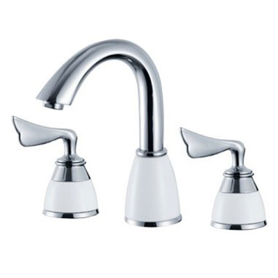 8 inch Widespread Chrome Bathroom Faucet with 2 Handle