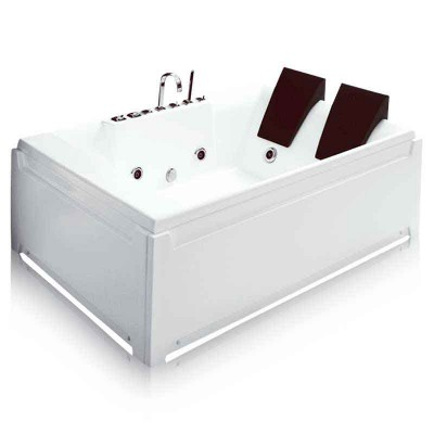 Jet Bathtub Rectangular 73″ | Freestanding Jetted Tub 2 Persons