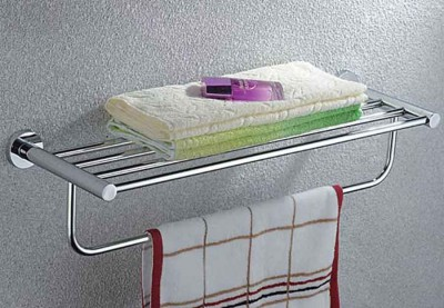 Towel Rack with Dual Shelves | Brand Towel Rack Supplier