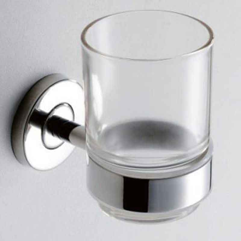 Tumbler Holder Wall in Chrome | Toothbrush Holder Factory