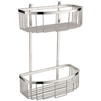 Bathroom Shower Accessories with Double Shower Shelves