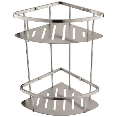 Bathroom Shower Caddy with Dual Corner Shower Baskets