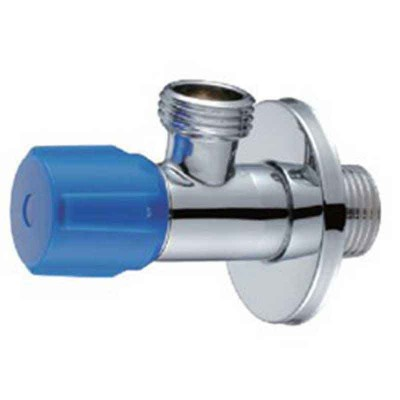 "Angle Stop Plumbing Sink Shut Off Valve G1/2"" by Brass"