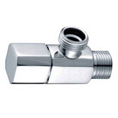 Faucet Shut Off Valve in Chrome | Compression Angle Stop Valve