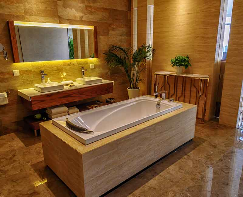 Villa Bathroom Design | How to Do Bathroom Decoration?