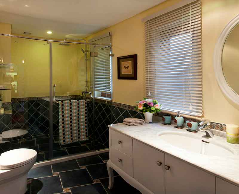 Bathroom Decor | How to Decorate a Bathroom in Villa?