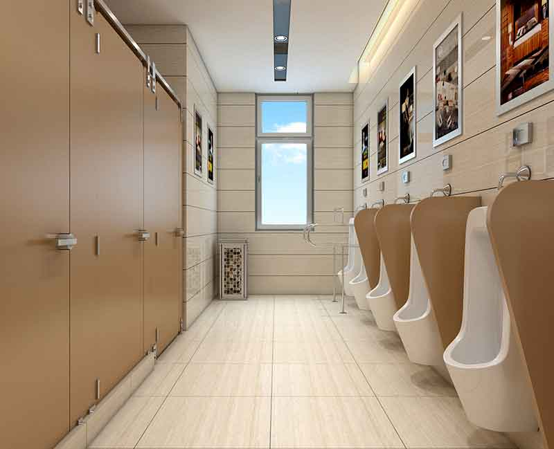 WC Restroom Design | How to Design a Restroom in Spacing Size?