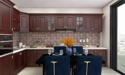 Dark Brown Kitchen Cabinets by Modern Kitchen Design Ideas