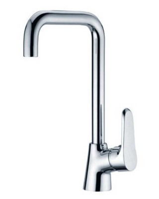 Single-Handle Brass Kitchen Faucet | Kitchen Sink Mixer Tap
