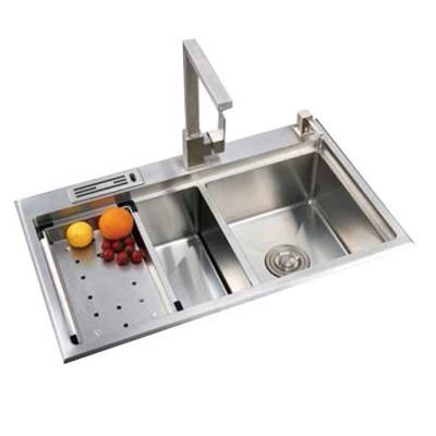 Handmade Sink Double Bowl 33 inch | Stainless Steel Kitchen Sink Manufacturer
