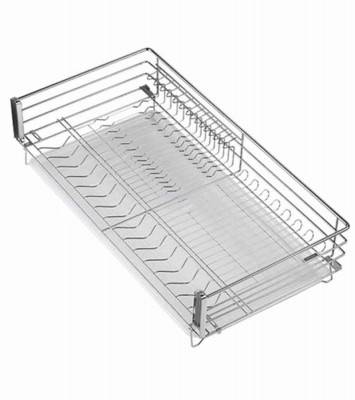 Dish Drainer Equipped on Kitchen Drawer