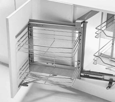 Kitchen Drawer Organizer 2 Tier and Pull-Out