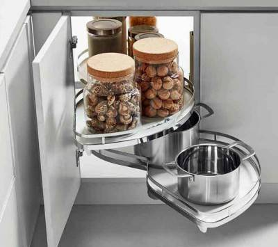 Kitchen Corner Drawer and Storage Organizer