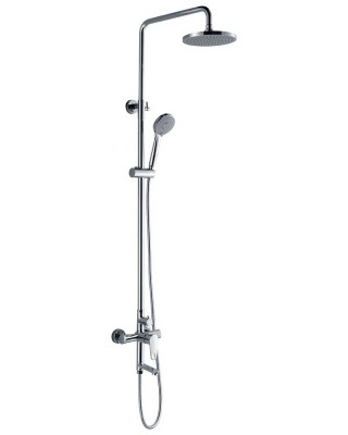 Overhead Shower Set with Hand Held Shower and Tub Spout
