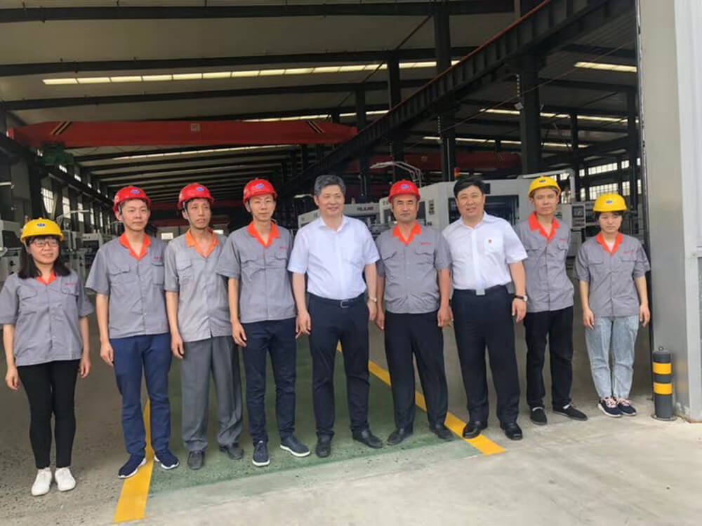 On May 25, 2019, the mayor of Cangzhou City, Hebei Province, and the Secretary of Dongguang County Party Committee visited the company.