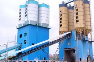 Concrete batching equipment