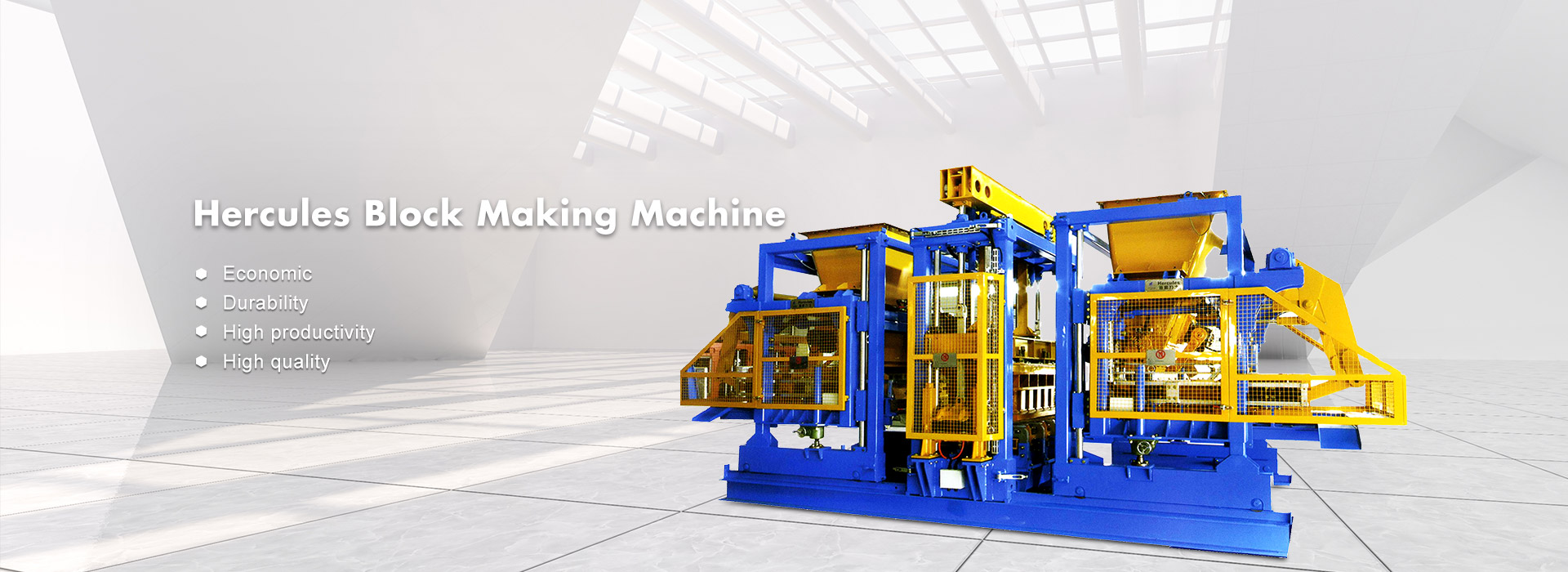 Hercules Block Making Machine