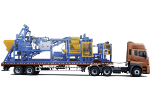QT6-15 Mobile Block Making Plant