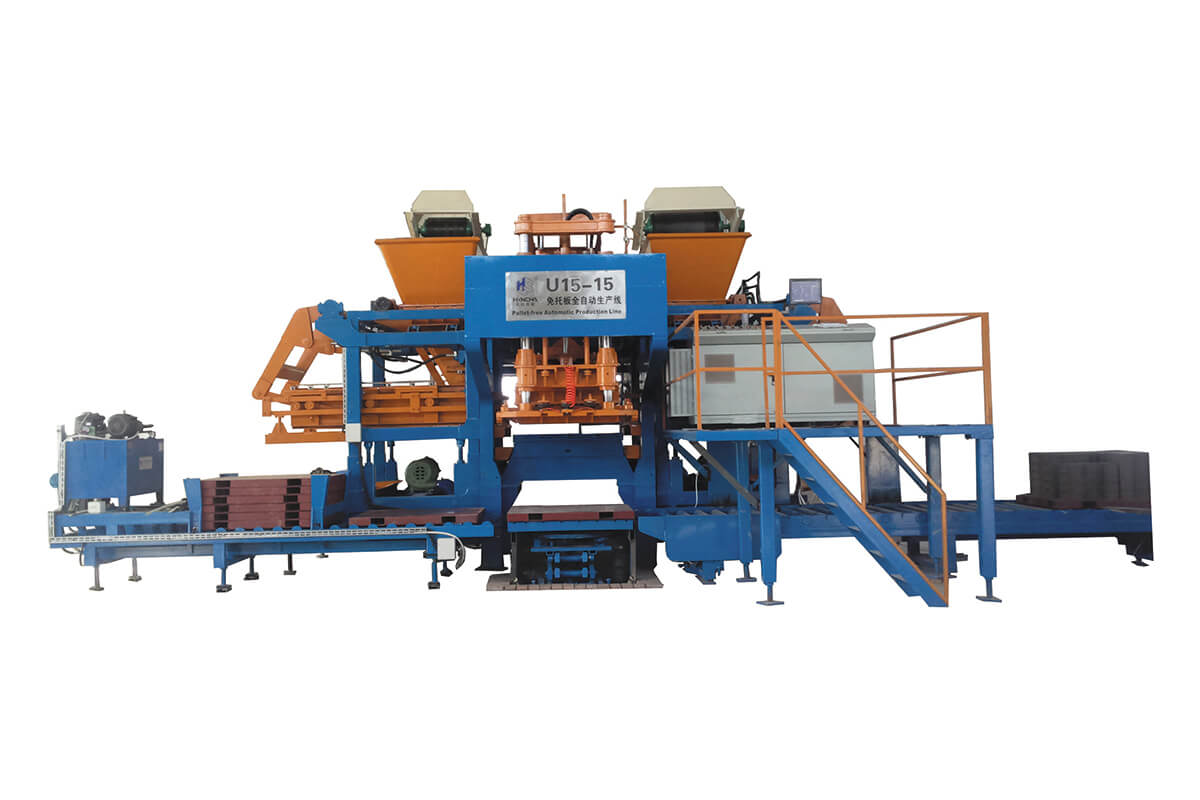 U15-15 Pallet-free block machine