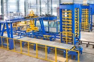 Full Automatic Concrete Block Production Line