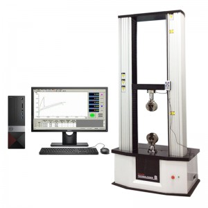 Material Universal Test Manual Tester Leather Strength Elongation Electronic Pvc 10 ton Tensile Testing Machine