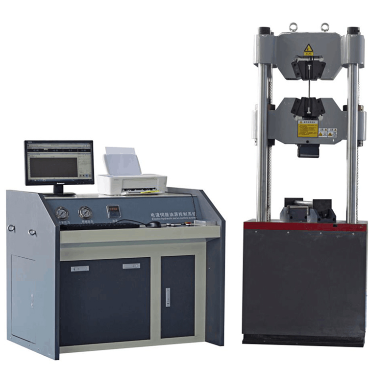 Good Quality Tensile Strength Tester – 10ton 50ton 100ton Steel HydraulicTesting Machine – Hongjin