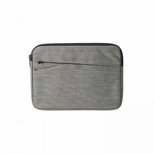 Canvas Fabric Sleeve for 10.1 Inch Tablets with Front Pocket