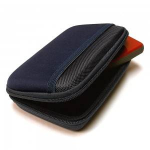 Multifunctional portable hard drive case with waterproof EVA and Nylon