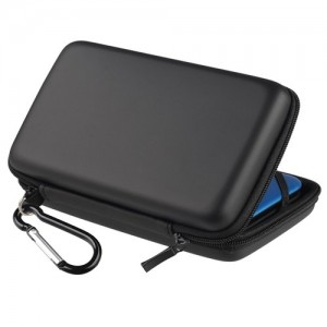 Multifunctional portable hard drive case with waterproof EVA and PU