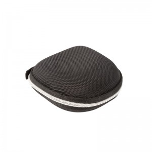 Round Shape Carrying Hard EVA Case for Earbuds Earphone