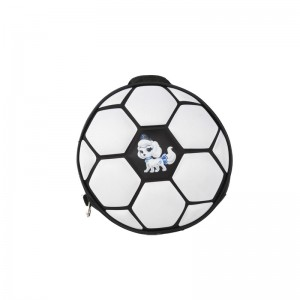 Excellent quality Inch Laptop Bag - Round Football Pattern Backpack – H&X