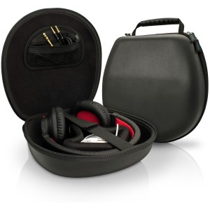 Black EVA Carrying Hard Case Cover for Headphones Headset